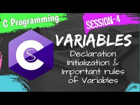 Variables in c Language|| C programming tutorial||Saswa thumbnail