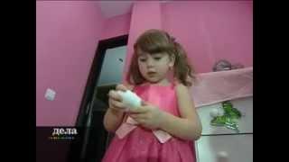 Натяжной потолок в детскую. комнату - это безопасно!(, 2014-04-11T01:14:58.000Z)