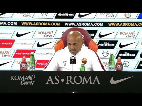 """Conferenza stampa Spalletti: """"Strootman titolare. Nainggolan si butterebbe nel fuoco per la Roma"""""""