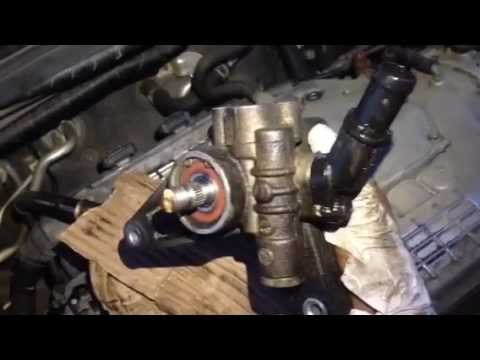Power Steering Pump Remove/replace Honda Odyssey 2005   YouTube