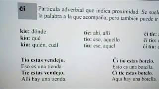 #Esperanto – Gramatiko
