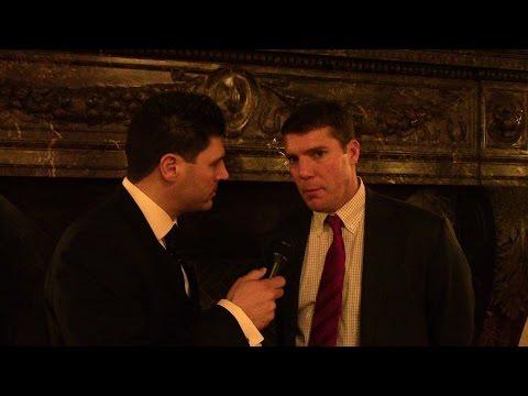 Chris Ash Speaks at National Football Foundation (NYC) 2016 Elite Eleven Gala