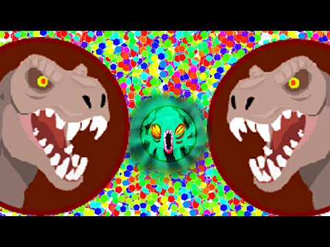 Agar.io Jurrassic World Dawn Of Dinosaurs T - Rex / Agario Live Stream