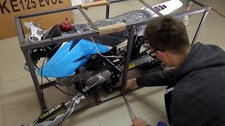 Assembling PIT BIKE Bse 140 yx cross