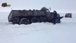 �� ���������� ������ ��C��� �� ���������� ���� ����� �������� ON THE ROADS NORTH OF RUSSIA winter