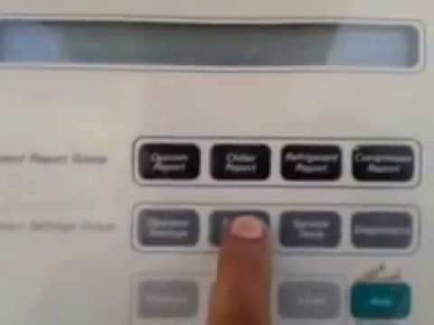 How To Trane Chiller Display And Keypad Unlock