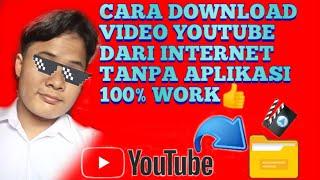 CARA DOWNLOAD VIDEO DAN LAGU YOUTUBE DARI INTERNET TANPA APLIKASI 100% WORK
