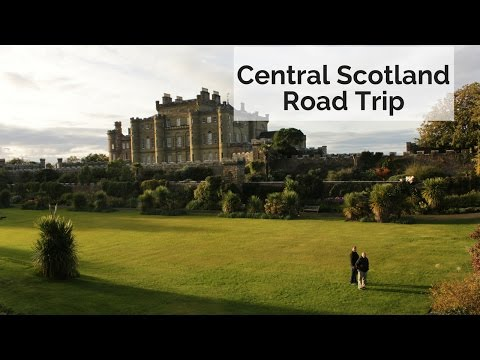 Central Scotland Road Trip: We Slept in a Castle!