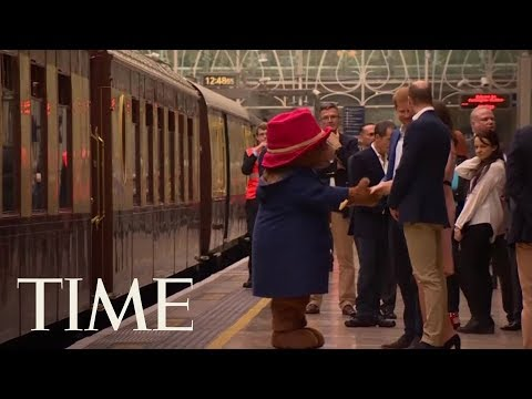 Kate Middleton Dancing With Paddington Bear Is Here So You Can Start The Week Off Right | TIME