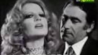 Mina  & A. Lupo _  Parole parole  _    Live 1972