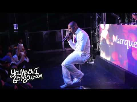 """Marques Houston Performing New Single """"Complete Me"""" Live in Vancouver, Canada 09/05/2016"""