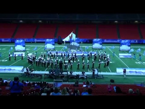 Lakewood Ranch High School Marching Band at the Peach Bowl Competition 12/29/2015