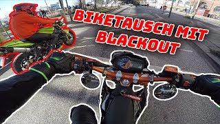 Ich fahre Blackouts Motorrad! - KTM 690 SMC-R - MotoVlog