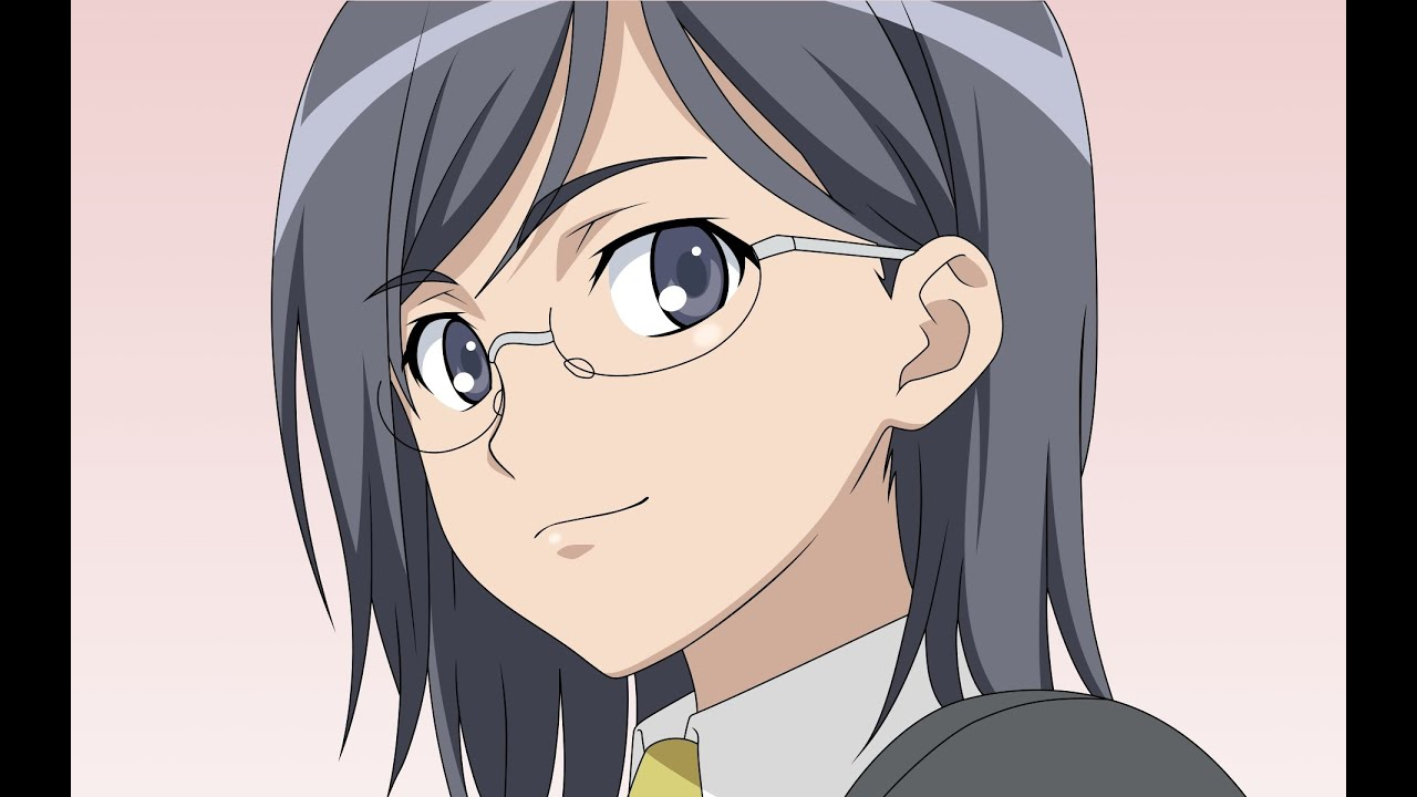 Anime girls in glasses