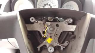 Dodge Caliber замена руля на кожаный