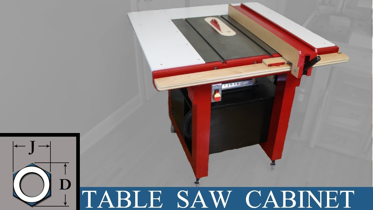 Building A Table Saw For The Apartment Workshop  Youtube