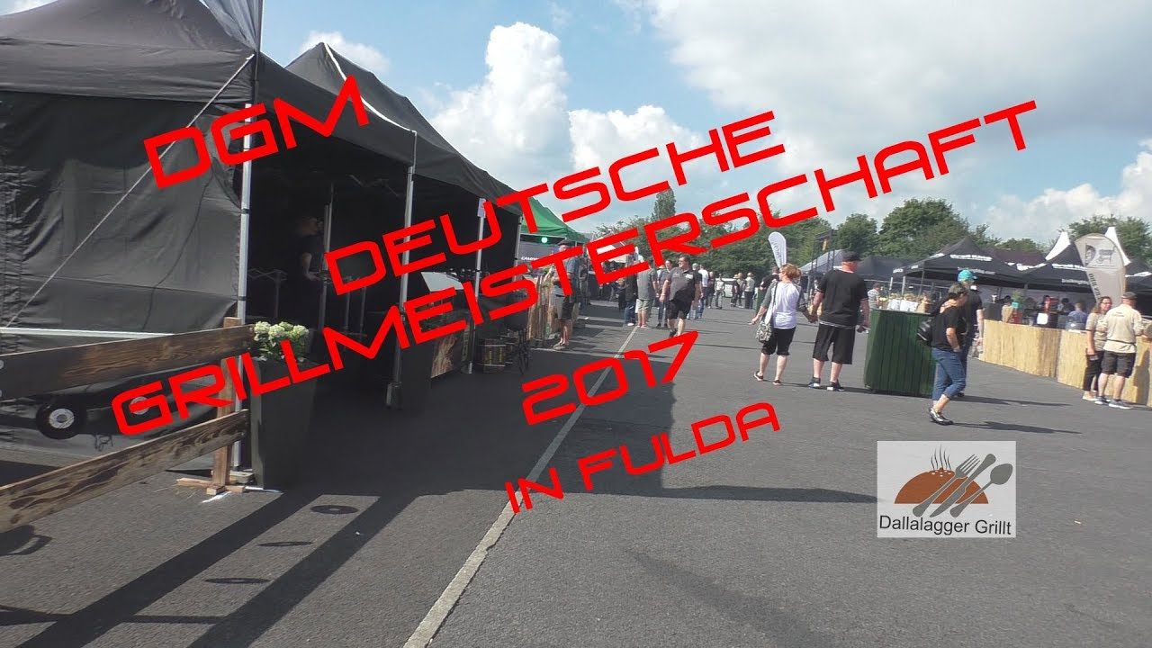dgm deutsche grillmeisterschaft 2017 in fulda am sonntag youtube. Black Bedroom Furniture Sets. Home Design Ideas