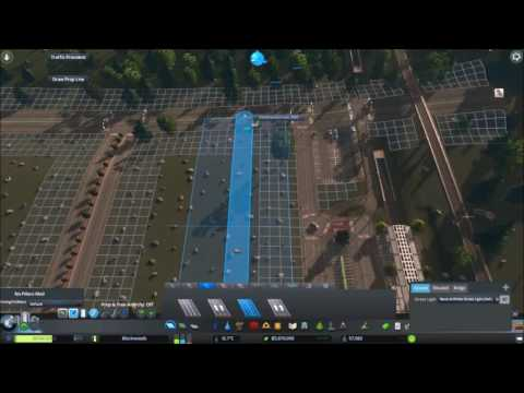 Cities: Skylines - Building a Strip Mall (Part 1/2)