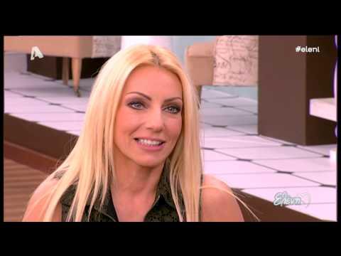 Entertv: Έλενα Τσαβαλιά: «Με τον Μάρκο θέλησα να κάνω παιδί. Μέχρι τότε δεν ήθελα»