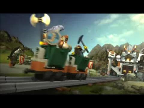 Lego Castle 2008 Dwarves Mine Commercial Youtube