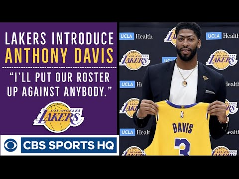 Anthony Davis would put Lakers' roster 'up against anybody' | Press Conference | CBS Sports HQ