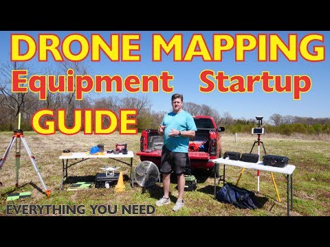 Startup Guide For Required Drone Mapping Equipment And How To Use It