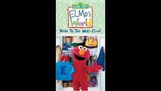 Elmo's World: Head To Toe With Elmo (2003 VHS)
