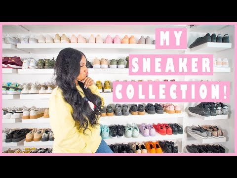 MY SNEAKER COLLECTION 2017 | SHERLINA NYM