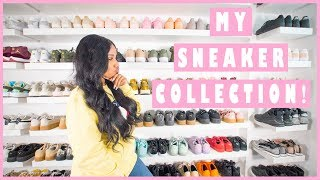 my sneaker collection 2017 sherlina nym