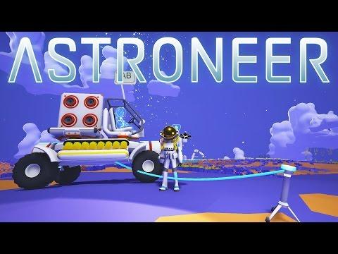 Generate Astroneer - Ep 3 - Rover and Vehicle Platform! - Let's Play Astroneer Gameplay Screenshots