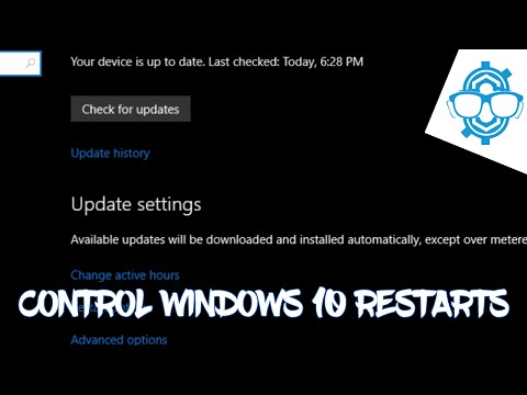 Don't Allow Windows 10 To Restart at The Wrong Time Use Active Hours!