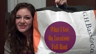 What I Got On Vacation/Fall Haul Thumbnail