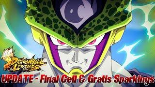 UPDATE - Final Cell & Kostenlose Sparking Helden! ;D | Dragon Ball Legends Deutsch