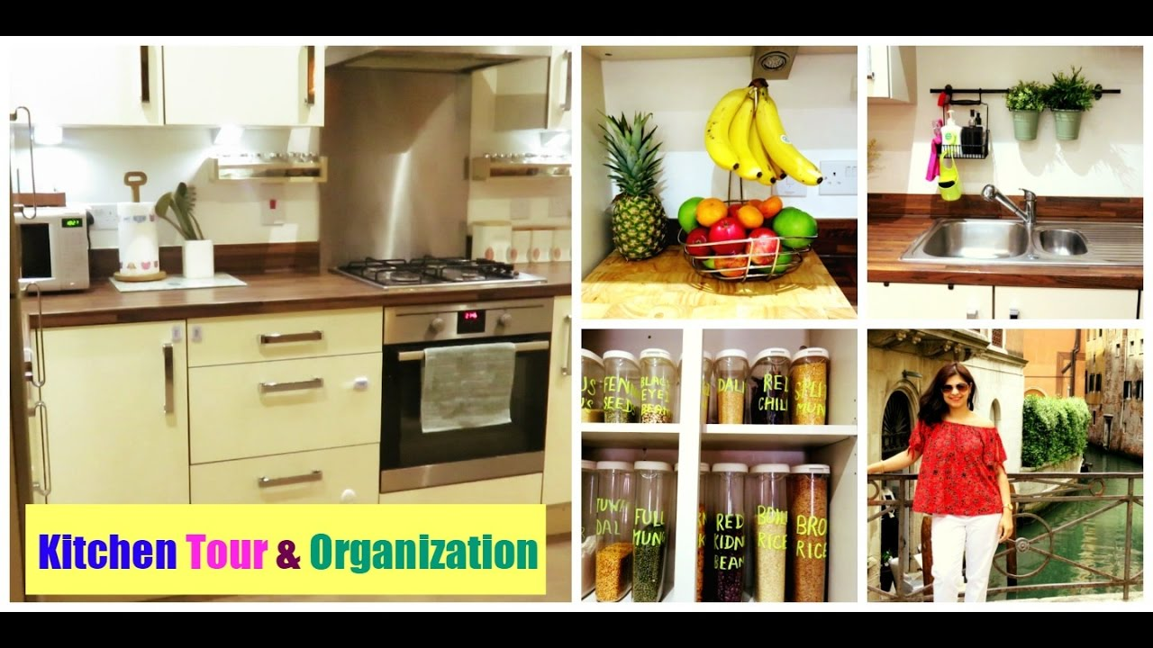 Small Kitchen Organization How To Organise A Small Kitchen Indian Kitchen Tour Kitchen