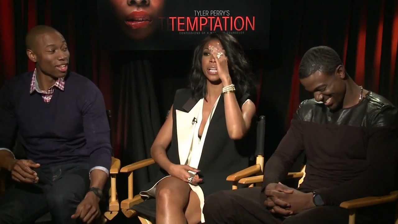 Brandy, Lance Gross & Robbie Jones Talk Temptation ...  Robbie Jones Model