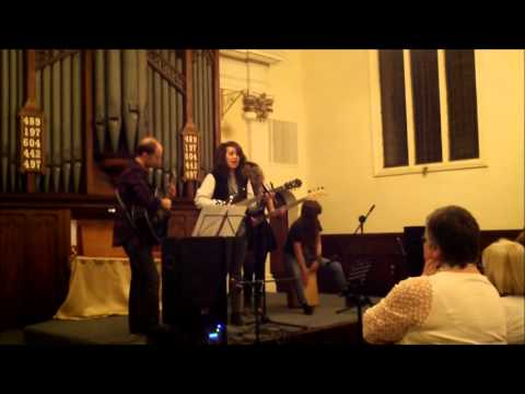 The City, originally by Ed Sheeran, performed by Charlotte, Courteney, Rupert and Verity