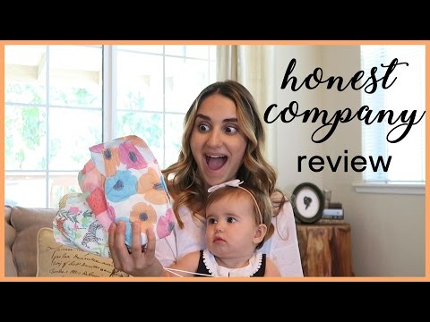 THE HONEST COMPANY REVIEW | Diapers + Wipes