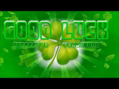 Good Luck Generator Frequency - Future-Channelled Binaural Beat Lottery Jackpot Winner