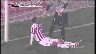 Red Star Belgrade 3-2 Partizan Belgrade 17.11.2012 Highlights (HD)