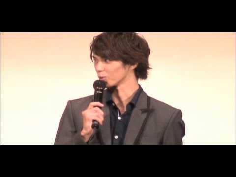 "The event of ""Bokutachi no kogen hoteru"" movie at Osaka.."