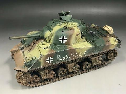 german-shermans---captured-us-m4-tanks