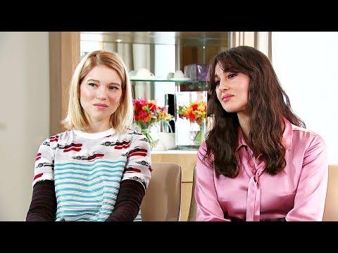 James Bond film 'Spectre': Lea Seydoux and Monica Bellucci interviews