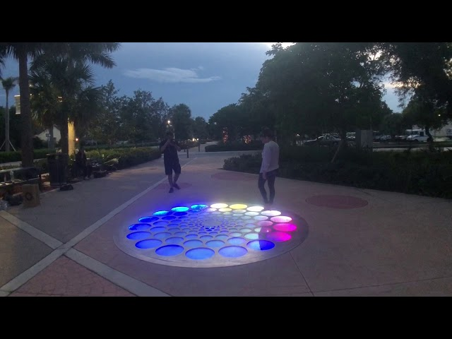 Testing Ascent, Permanent Interactive Art Coral Springs
