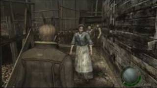 Resident Evil 4 PC amazing patch knifefight LEON vs Chainsaw Maniac Flawless Victory