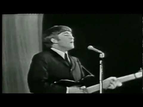 The Beatles - Twist and shout (HD) Royal variety performance  w/ lyrics