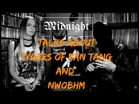 Athenar talks about Tygers Of Pan Tang and NWOBHM