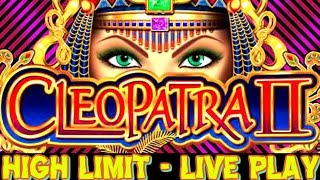 $1000 HIGH LIMIT $20 BETS CLEOPATRA 2 SLOT MACHINE AT COSMO, LAS VEGAS