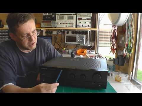 Pioneer Amplifier Repair & Motorized Volume Control Conversion