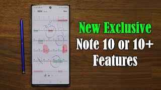 Galaxy Note 10 Plus - 3 NEW Exclusive Features That Will Blow Your Mind