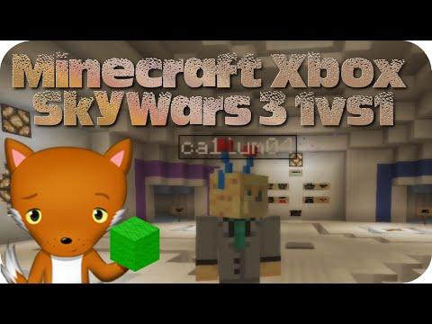 Minecraft Xbox - SkyWars 3 1vs1